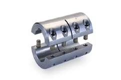 Two-Piece Rigid Coupling with Keyway