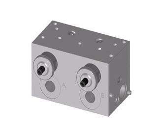 SDRVM - дроссельные обратные клапаны Bieri NG4