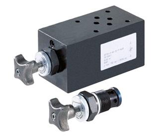 SDRV700 - дроссель - предохранительные клапаны Bieri NG6