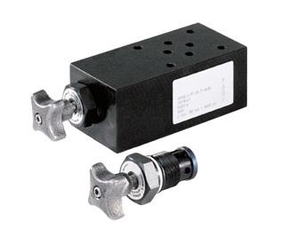 AV700 - запорные клапаны NG6