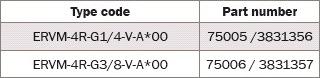 ERVM - обратный клапаны Bieri NG4