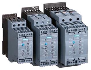 Устройства плавного пуска Siemens Sirius 3RW40